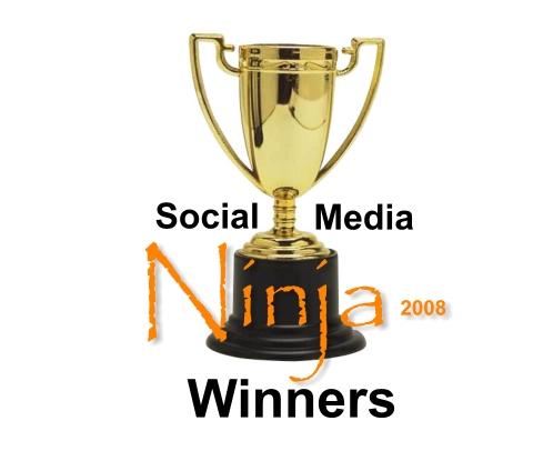 Social Media Ninja 2008 Winners
